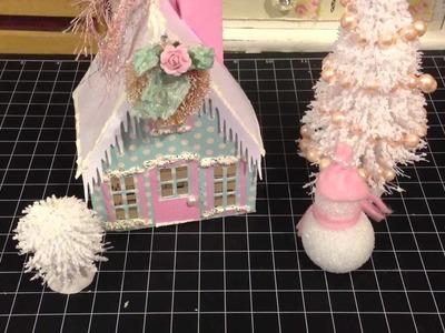 Christmas House using my Cameo :)
