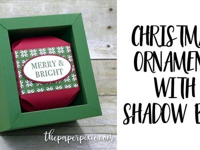 Christmas Ornament with Shadow Box