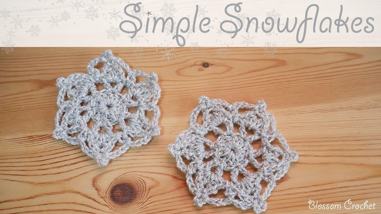 Christmas Series: How to Crochet a Snowflake