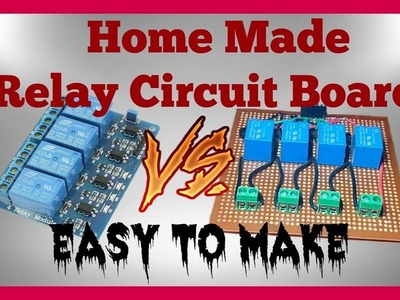 Control High Voltage Devices | Arduino Relay Making Tutorial