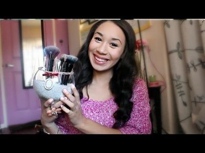 D.I.Y Makeup Brush Holder!