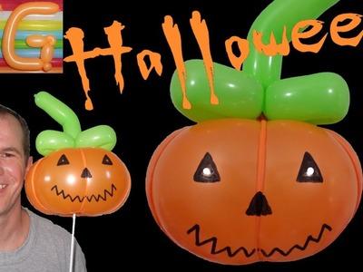 Decoracion halloween - calabazas de halloween - globoflexia - decoracion con globos