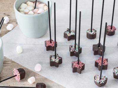 DIY : Chocolate-sticks by Søstrene Grene