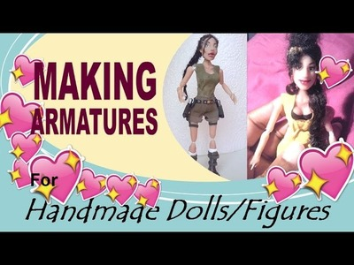 Doll-Making Basics, Armatures for Miniature Jointed Dolls