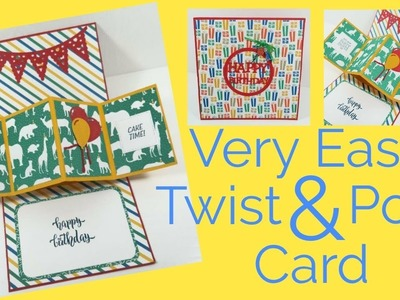 Easy Twist & Pop Card | Video Tutorial