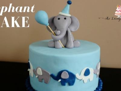 Elephant Cake Tutorial!
