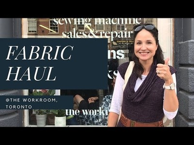 Fabric Haul, Swag Bag, and vlog from the 10th Anniversary Sale at The Workroom