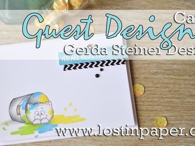 Gerda Steiner Guest Designer - featuring Buckets of Love Card 2!