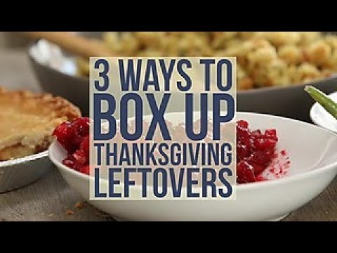 How to Box Up Thanksgiving Leftovers - HGTV Happy