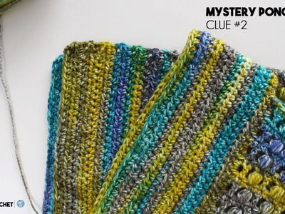 How to Crochet a Poncho: Mystery CAL Clue Two Left Hand