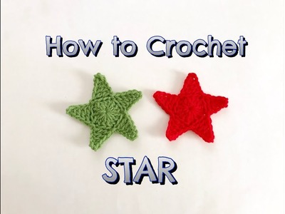 How to Crochet Star. Crochet easy star