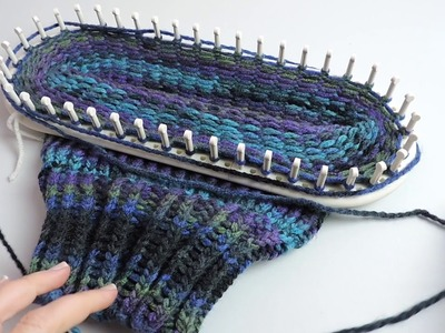How to Loom Knit a Beanie Hat (Beginner friendly)