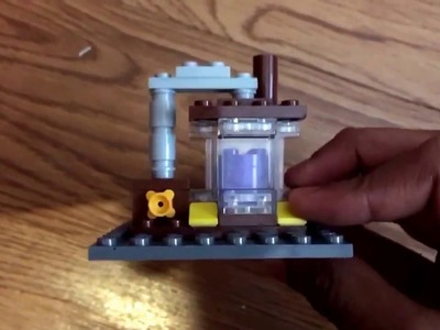 """How to make a,""""Clash of Clans Lego Elixir Collector!"""""""