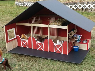 How to make a Doll Barn