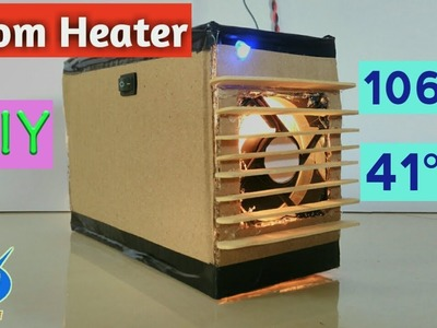 How to make a Heater at Home | DIY | Room Heater | Easy