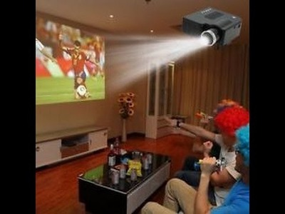 How to Make Projector in home  for (Ak Digital)