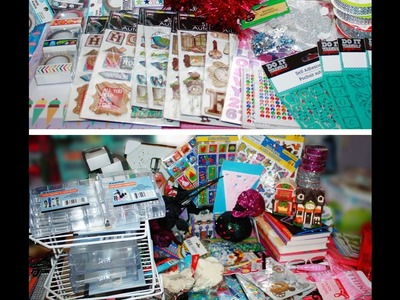 HUGE DOLLAR TREE HAUL!!!~ Crafts, Storage, Decor, Breast Cancer Awareness items.  great stuff!~