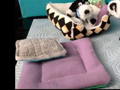 Manualidad : Camitas para perritos de juguete???? DIY toy Dog's Beds