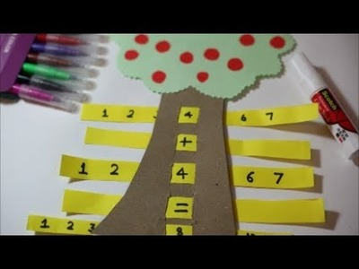 MATH GAME FOR KIDS| SIMPLE APPLE TREE MATH GAME- EDUCATIONAL| The4Pillars