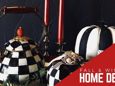 New! Nontraditional Fall & Winter Home Decor + Dollar Tree & Dollar Items Upcycled
