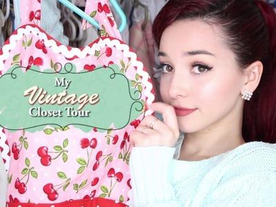 Pastel Vintage Closet Tour: Where Do I Shop?
