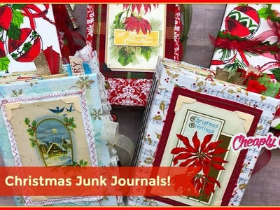 Project Share: Christmas Junk Journal Release! Etsy Restock