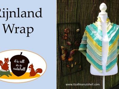 Rijnland Wrap - Crochet Pattern