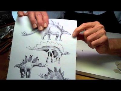 Sculpting a Stegosaurus - Part 2