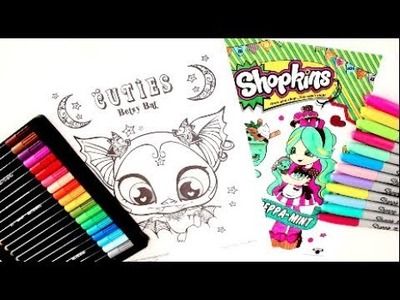 SHOPKINS PEPPAMINT GIVEAWAY COLORING PAGE NEW CUTIES HALLOWEEN SPECIAL COLORING PAGE
