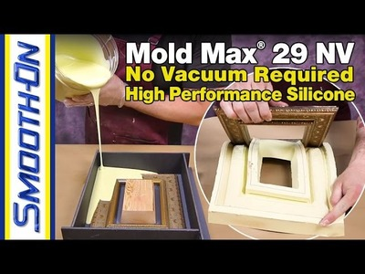 Silicone Mold Making Tutorial: How To Make a Block Mold To Reproduce an Antique Frame in Resin