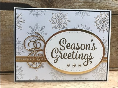 Stampin' Up! Snowflake Sentiments