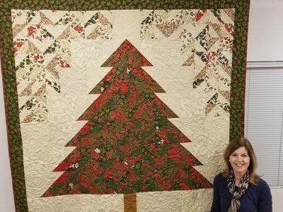 Strip Tube Tannenbaum | Christmas Tree Quilt!