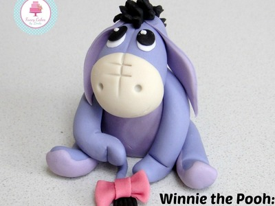 Winnie the Pooh: How to make Eeyore Cake Topper. Model Tutorial. Pictorial from Sugar