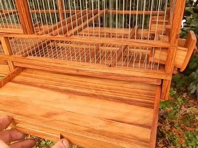 Wooden bird cage 5