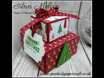 #6 Festive Friday Gorgeous Stacked Boxes For Body Butter & Lip Gloss