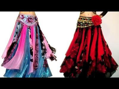 Ameynra Belly Dance Fashion 15 - Gypsy Style skirts, best designs