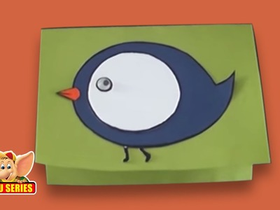 Arts & Crafts - Learn to Make a Bird Greeting Card