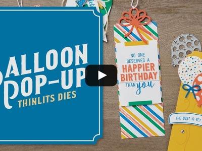 Balloon Pop-Up Thinlits Dies