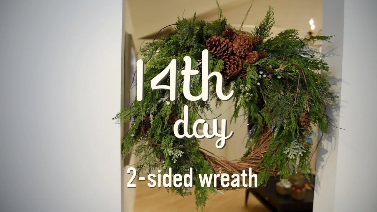 Christmas Decorating Ideas | DIY Christmas Wreath | 14