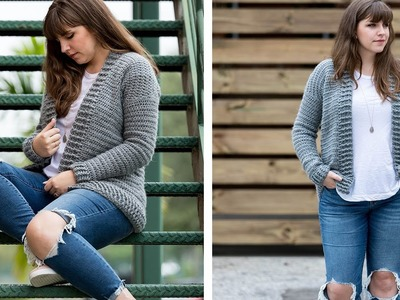 Crochet the Everyday Cardigan Sweater