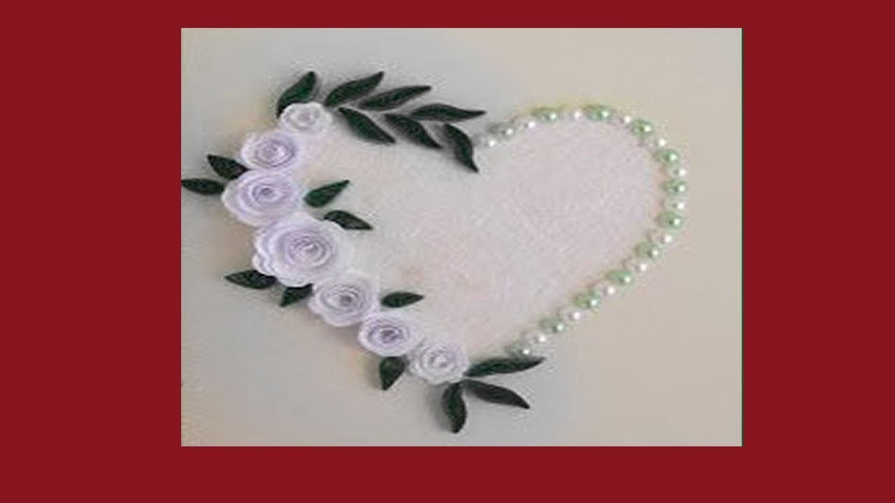 Diy how to make a beautiful heart shaped quilling greeting card diy how to make a beautiful heart shaped quilling greeting card siri artcraft kristyandbryce Choice Image