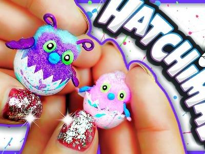 DIY Miniature Hatchimals ❤️ MINI Plush for Dolls | No Polymer Clay