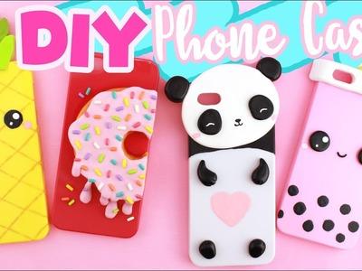 DIY PHONE CASE Compilation! - 4 CUTE DESIGNS!