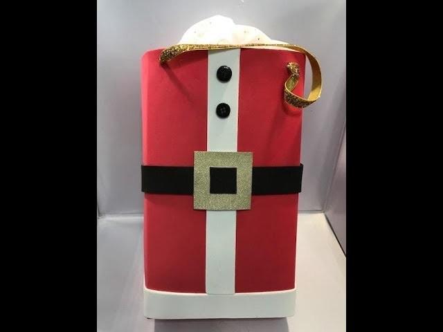DIY Santa Gift Bag - Made from foam