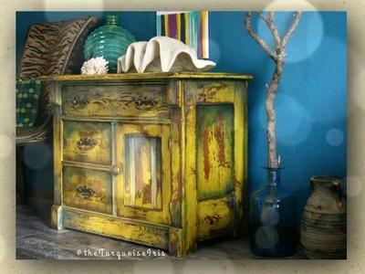 Doors Series ~ Hand Painted Furniture Inspired From Doors Around the World