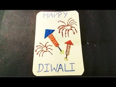 Easy and Simple Diwali card for Kid's School Project || Diwali crafts