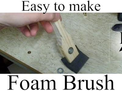 Easy to make foam brush