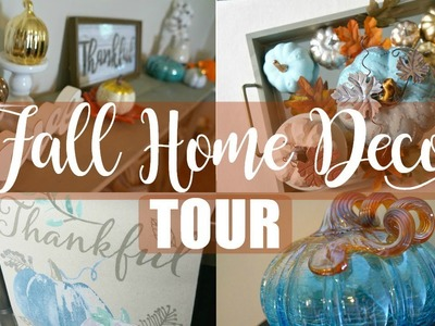 FALL HOME DECOR TOUR | 2017 | Maranda Christine