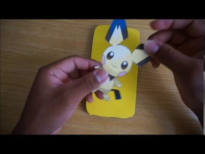 Funda para celular de POKEMON GO ! super facil.