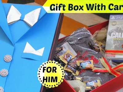 Gift Packing Ideas For Rakhi & Friendship Day | Gift Box With Card | For Brother Friend